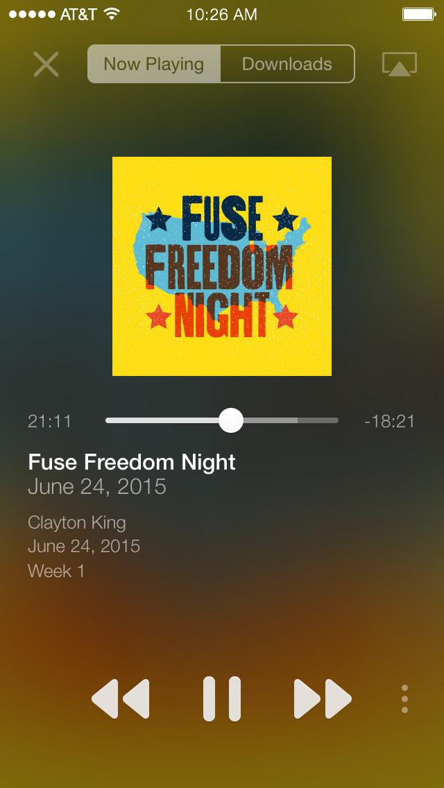 NewSpring Fuse screenshot 2