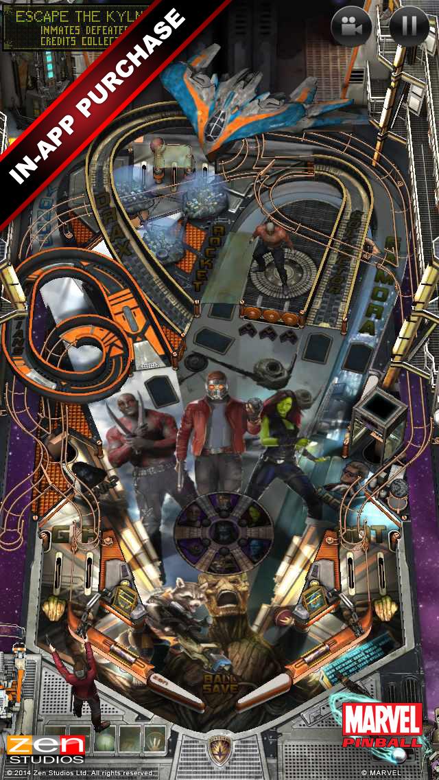 Marvel Pinball screenshot 3