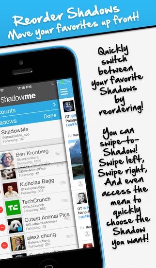 ShadowMe for Twitter screenshot 3