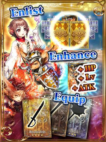 Chain Chronicle - Line Defense RPG screenshot 9