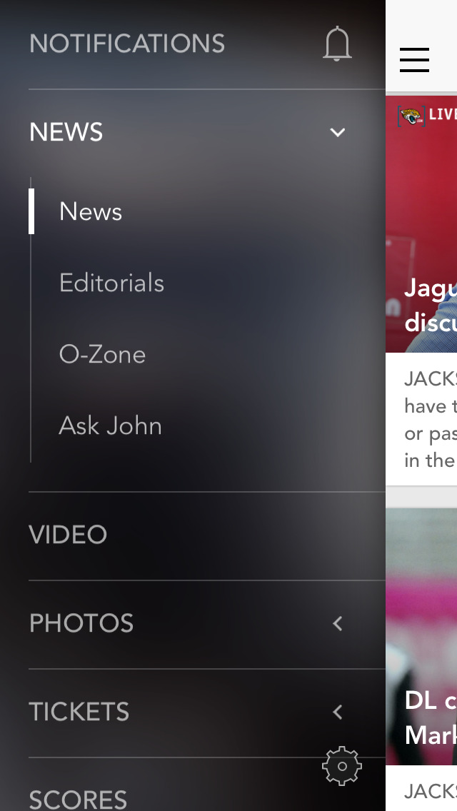 Jacksonville Jaguars screenshot 1
