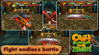 Crazy Slingshot Dead Zombie screenshot 2