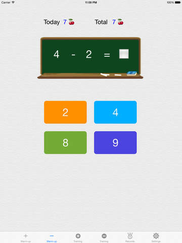 Make 10,100,1000 - Free(Complementary Number Training) screenshot 7