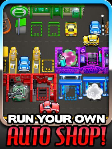 Tiny Auto Shop: Car Stop Baron screenshot #1