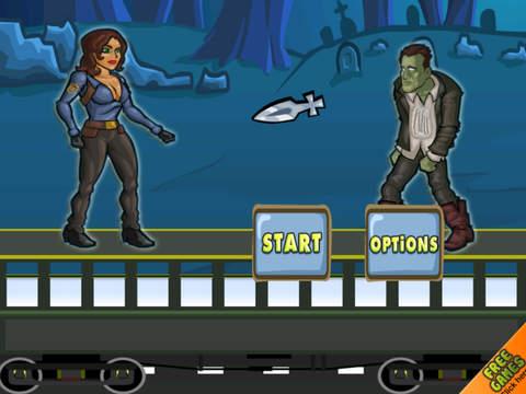 Amazing Girl Zombie Slayer Pro - Best running and fighting game screenshot 5