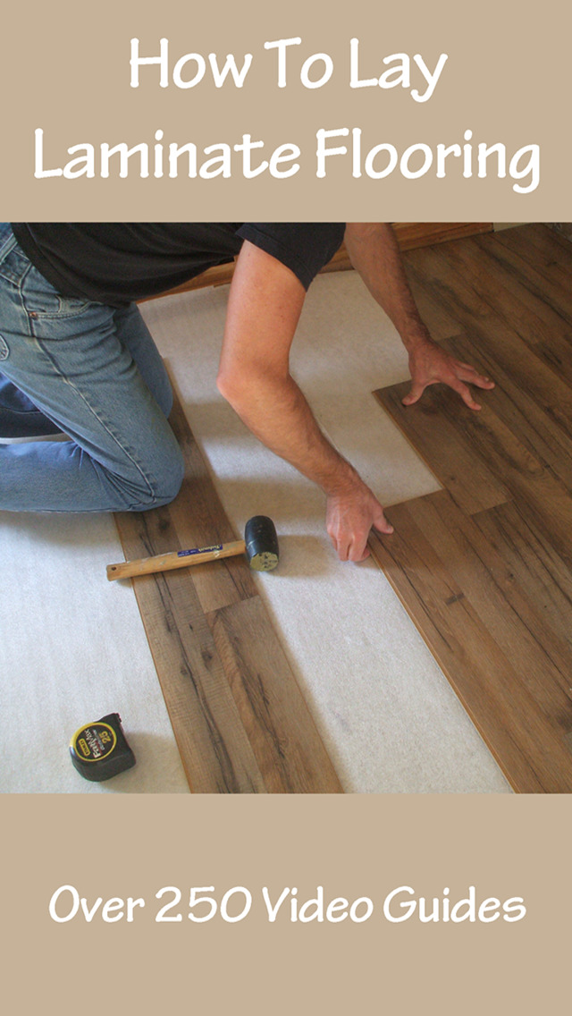 How To Lay Laminate Flooring screenshot 1