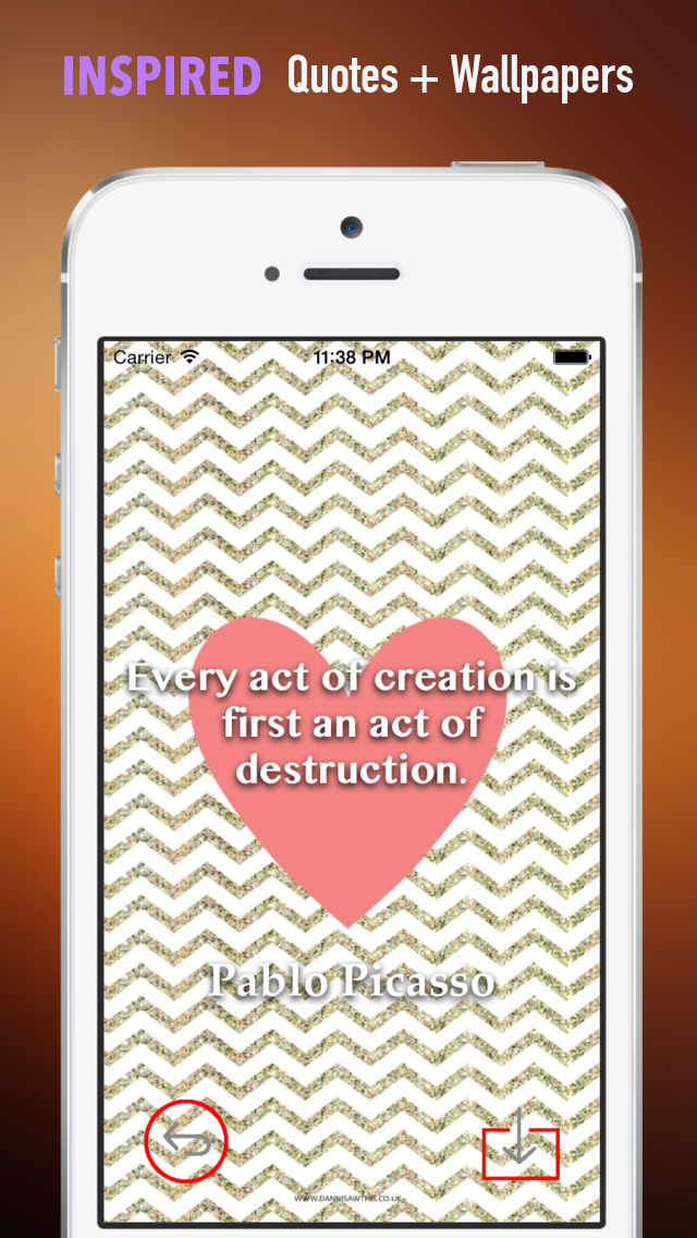 ZigZag Wallpapers HD: Quotes Backgrounds Creator with Best Designs and Patterns screenshot 5