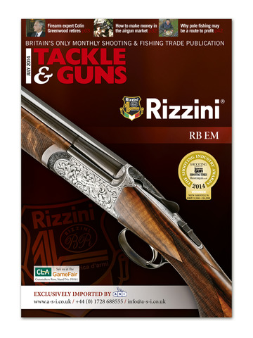 Tackle and Guns - Britain's only monthly shooting and fishing trade publication screenshot 6