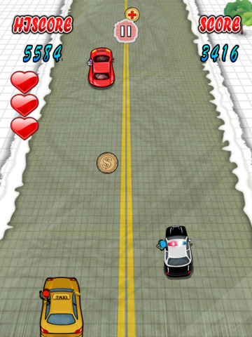 `Stickman Police Car Crime Chase Race: The Doodle Chase Racing Free by Top Crazy Games screenshot 6