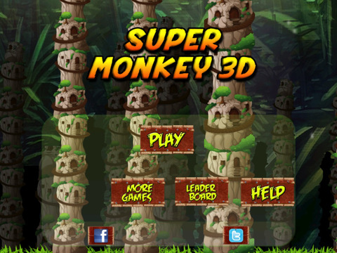 Super monkey 3D : The Jump And Fly Adventure In The Jungle screenshot 10