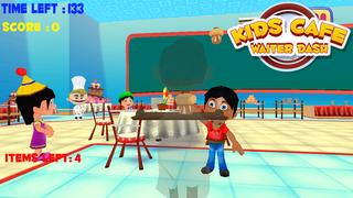 Kids Cafe Waitress Dash screenshot 1