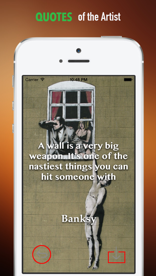 Banksy Artworks HD Wallpaper and His Inspirational Quotes Backgrounds Creator screenshot 4