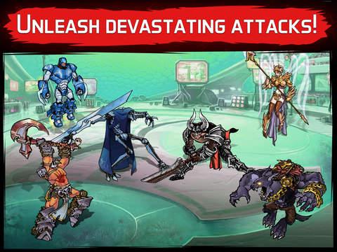 Mutants: Genetic Gladiators screenshot 7