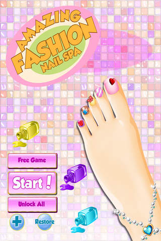 Foot Spa Free ! Fun Kids Games - náhled
