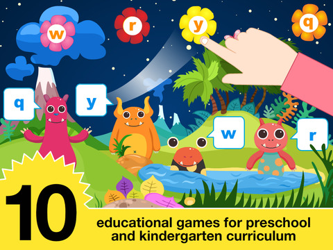 Preschool All In One Basic Skills Space Learning Adventure A to Z by Abby Monkey® Kids Clubhouse Games screenshot 6