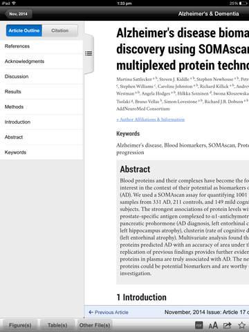 Alzheimer's & Dementia Journal screenshot 7