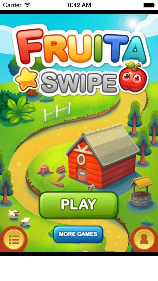 Fruita Swipe Free Game screenshot 1