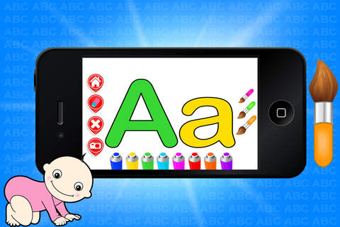 Pre School ABC Coloring - Learn Free Amazing HD Pa - náhled