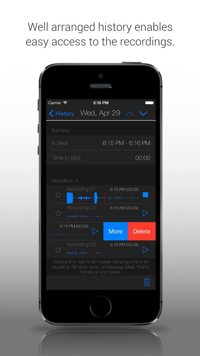 Prime Sleep Recorder screenshot 4
