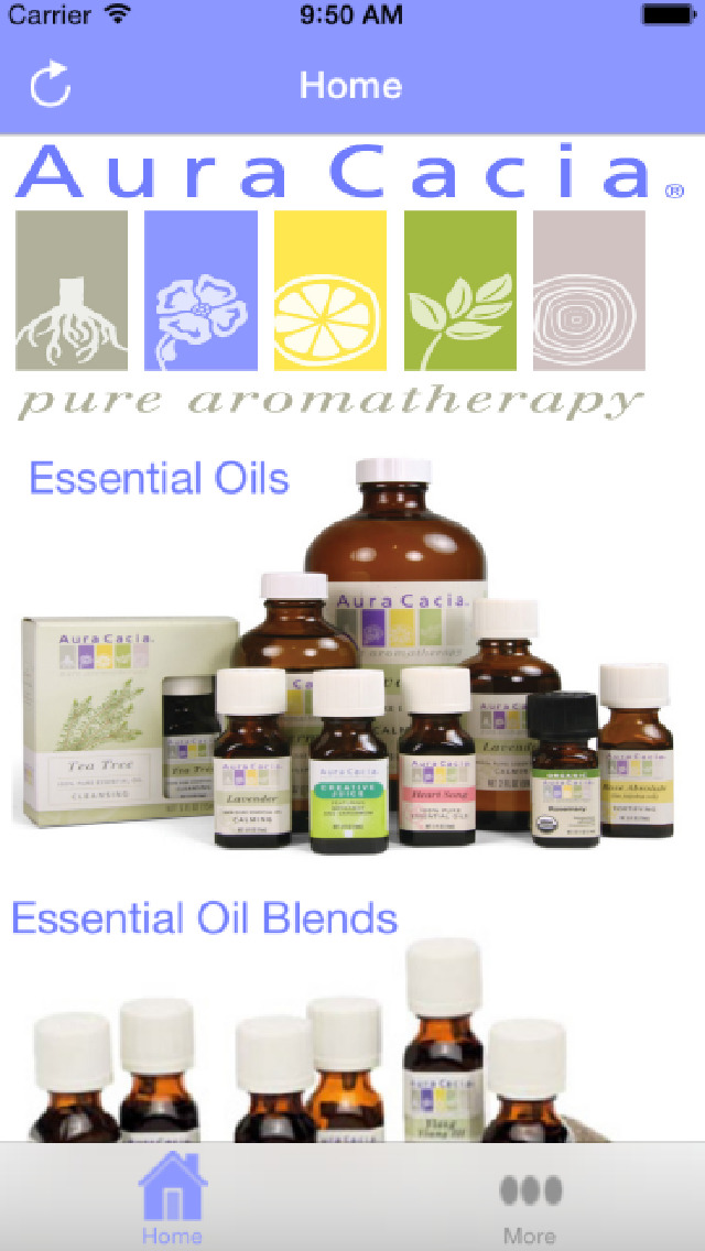 Aura Cacia Essential Oils screenshot 1