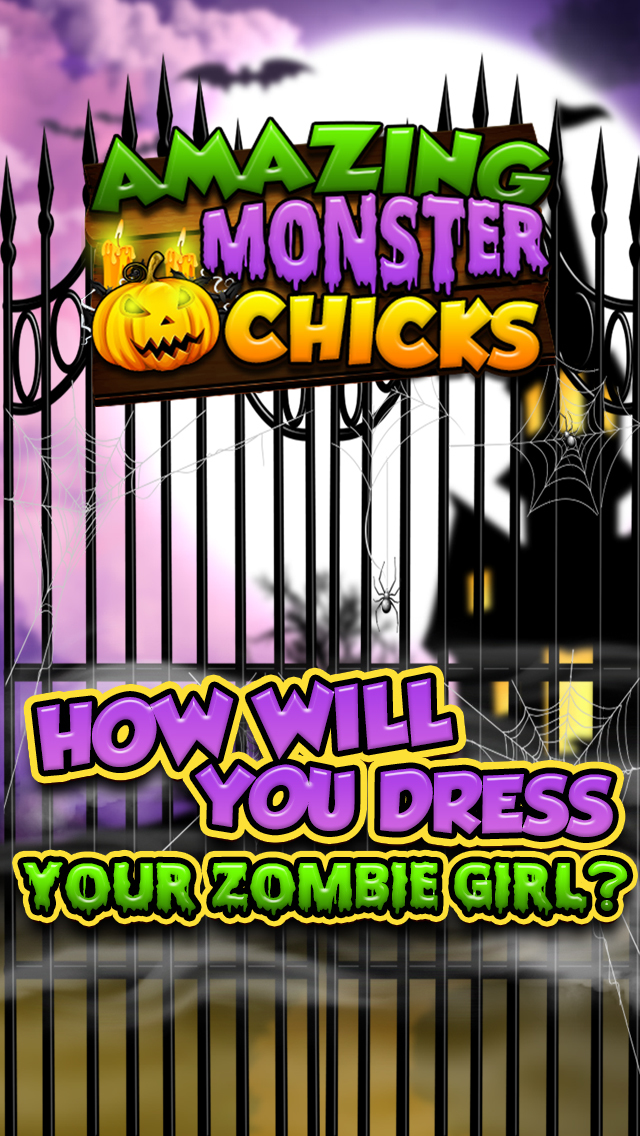 A Monster Chickz Spooky Dress-Up Make-Over - Free Salon Games for Girls screenshot 4