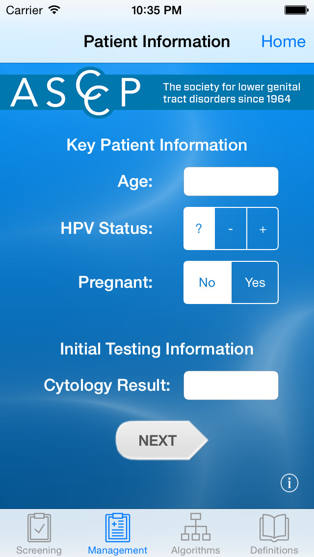 ASCCP Mobile screenshot 2