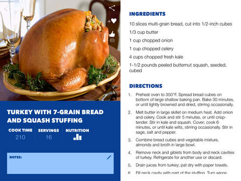 Butterball Cookbook Plus screenshot 7