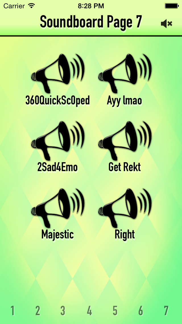 NoScope MLG Soundboard screenshot 2