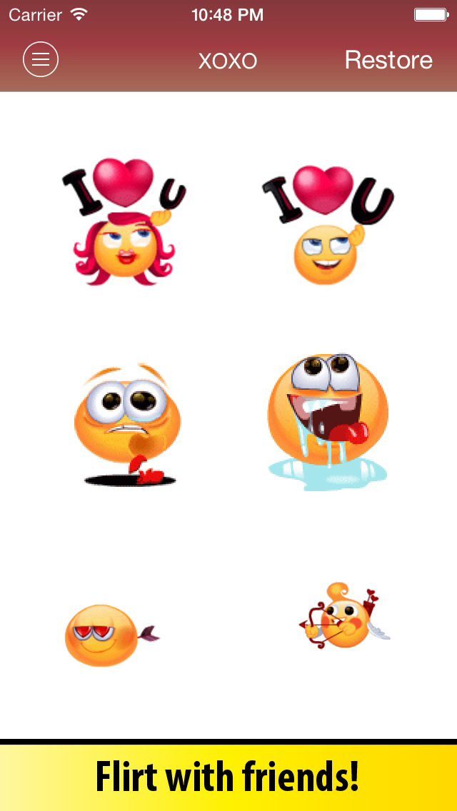 Animated Emoji Keyboard - Emoticons for iPhone & iPad screenshot 4