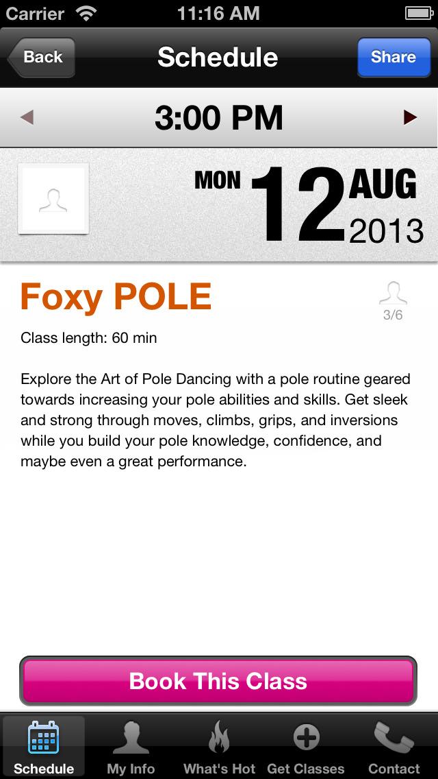 Foxy Fitness and Pole screenshot #3