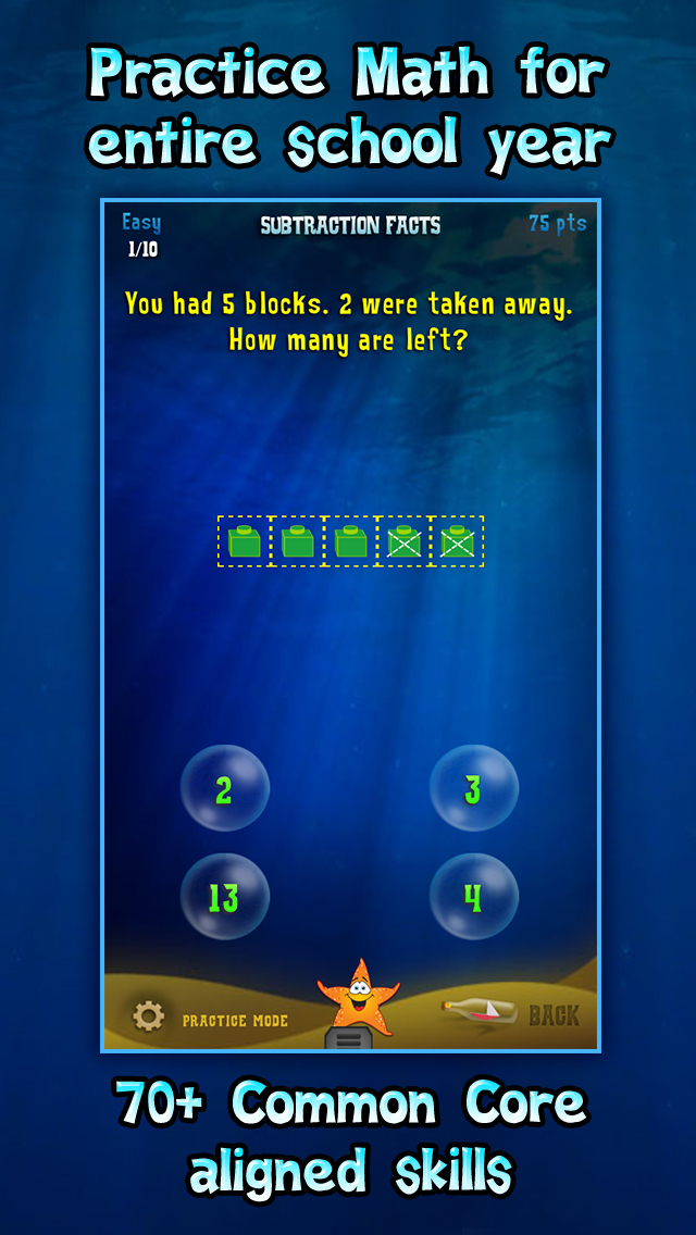 First Grade Splash Math Learning Practice for Kids screenshot 1