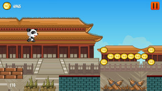 A Cute Panda Run Free - Escape From The Forbidden Forest Of Alxabiar screenshot 1