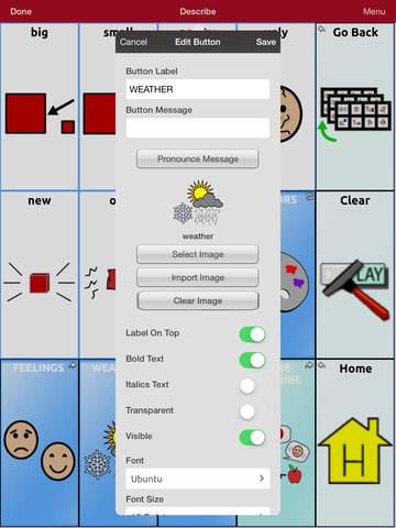 TouchChat HD - AAC screenshot 10