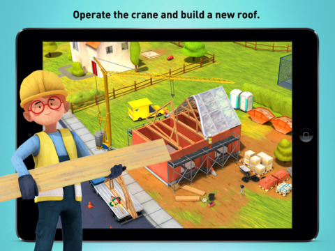 Little Builders - Trucks, Cranes & Digger for Kids screenshot #3
