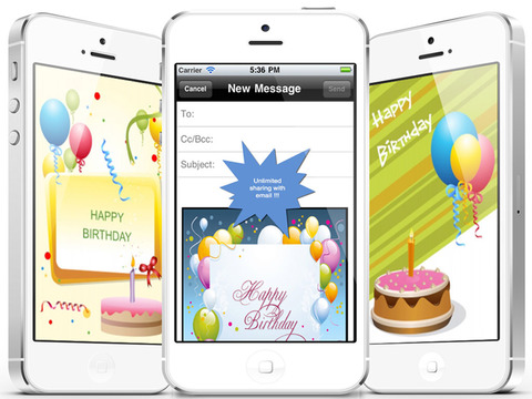 The Ultimate Happy Birthday Cards (Pro Version). Custom and Send Birthday Greetings eCard with emoji, text,voice messages and photo editor screenshot 10