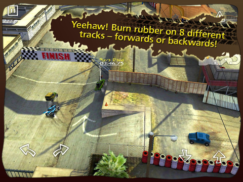 Reckless Racing HD screenshot #5