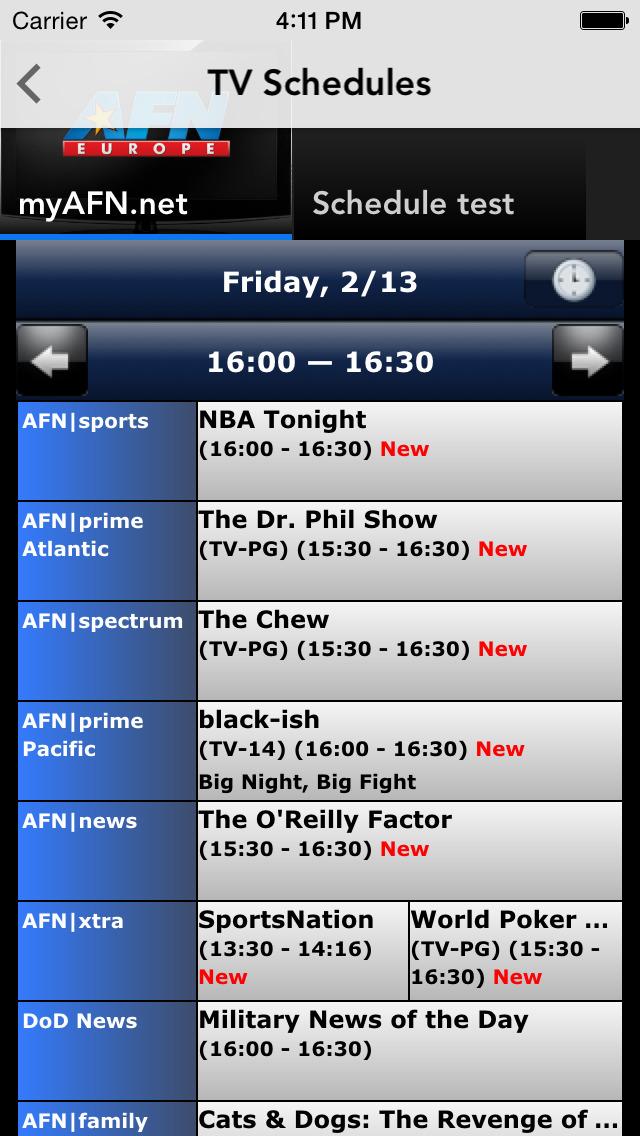 AFN Europe screenshot 3