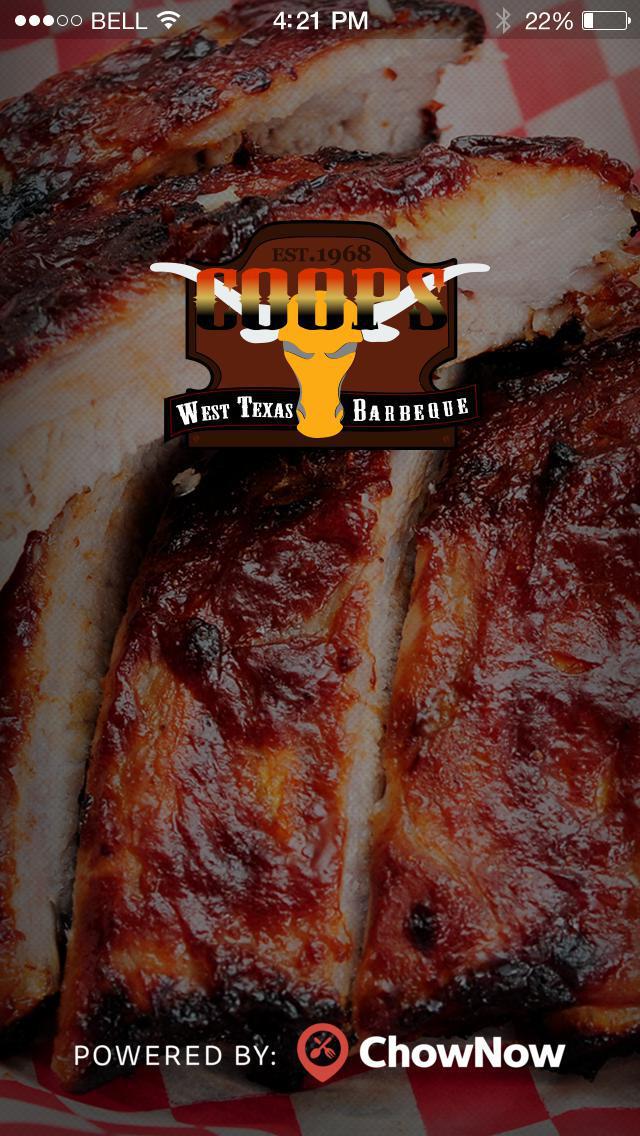 Coop's West Texas BBQ screenshot 1