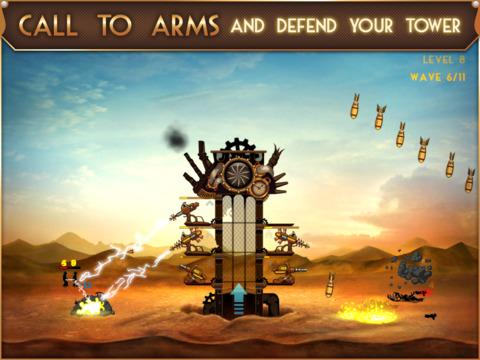 Steampunk Tower screenshot #2