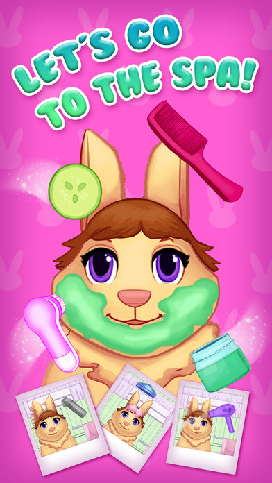 Bunny Burrow Playtime - Makeup, Hair, Spa & Doctor screenshot 4