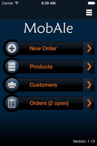 MobAle - náhled