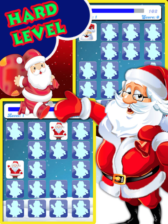Christmas Matching Pairs - Santa Slaus and Xmas screenshot 6