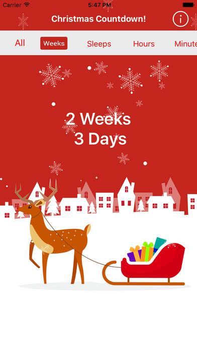 Christmas Countdown & Event Reminder screenshot 2