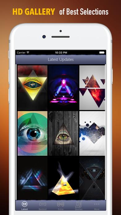 Illuminati Wallpapers HD- Quotes and Art screenshot 1