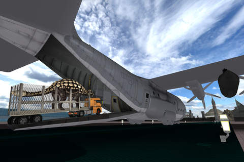 Off-Road Dino Transport Truck & Flight Simulator - náhled