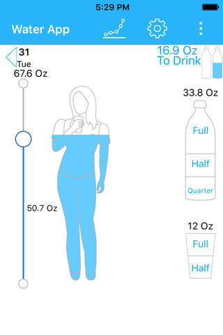 Water App (Reminder & Tracker) - náhled