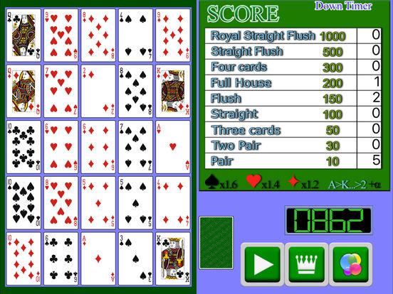 Poker Solitaire PVN screenshot 4