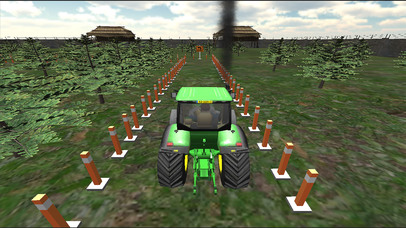 Farming Tractor Parking Driver screenshot 2