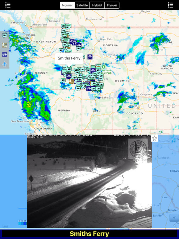 Idaho NOAA Radar with Traffic Cameras Pro screenshot 7