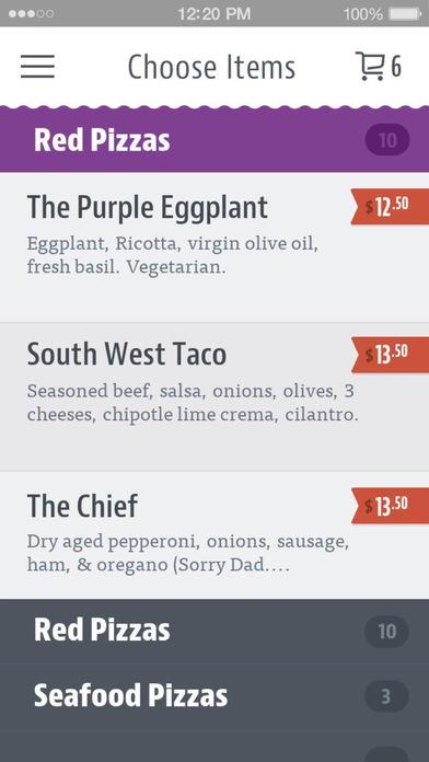 Purple Eggplant Pizza screenshot 3